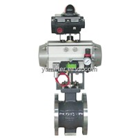 V-Shaped Eccentric Ball Valve