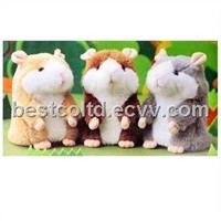 2013 Hot Sale Cute Mimicry Recording Mice Hamster Toys for Kids Record and Repeat Toy
