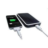 3000mAh Solar Power External Backup Battery Charger For Phones