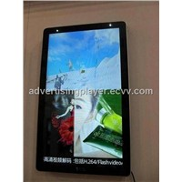 32 inch wall-mounted player / LCD display / TFT LCD screen / digital signage player