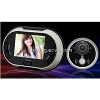 3.5inch LCD Peephole Door Viewer with Photo Taking of Visitors
