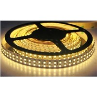 5m Warm White Double Row 5050 Strips 600 SMD LED Flexible 120LED/Meter