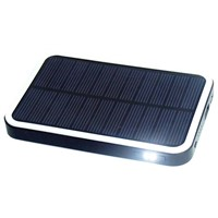 6000mAh Solar Power External Backup Battery Charger For Phones