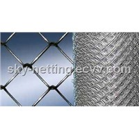 90*90mm Mesh Size 0.6m Height Chain Link Fence