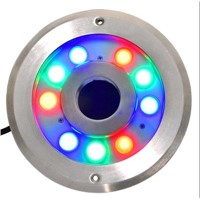 9w RGB LED Dry Fountain Light,9w RGB LED Square Fountain Light(JP-94293)