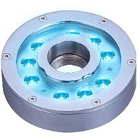 9x3W RGB3in1 LED Fountain Lights, 27W Tricolor LED Fountain Light (JP-94196)