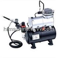AS186K mini airbrush compressor kit