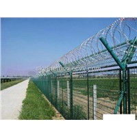 Airport Safety Mesh Fence 50*200mm Mesh Opening 5mm Diameter