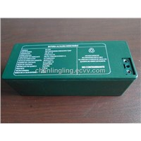 Alkaline battery pack for military comunications