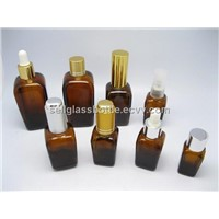 Amber Square Essential Oil Bottle(in stock)