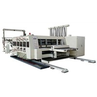 Automatic Flexo Printing, Slotting & Die-Cutting Machine