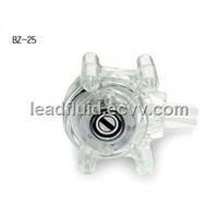BZ25 pump head transparent PC plastic shell,flow:1700ml/min
