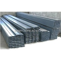 Baier steel channels for partition system---to Angola