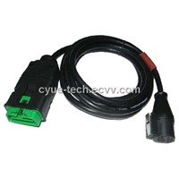 CY-DC237, Car Diagnostic Cable tool,OBD-II MALE TO PSA 30P FEMALE