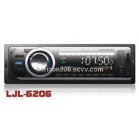 Car FM/MP3 Player LJL-6206 Music Player Audio Product Support Compatible CD,