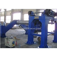 Cement Tube Making Machine of Roller Suspension Type for Nigeia