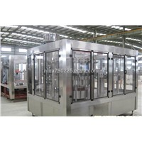 Cola Filling Machine, Carbonated Drink washing filling capping three in one unit