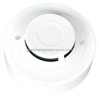 2-Wire Conventional Photoelectric Smoke Detector Smoke Sensor Alarm for Fire Fighting System