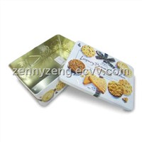 Cookies tin boxes Chocolates tin cans Gift tin boxes Rectangle tin boxes