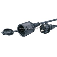 European Extension cord,IP20  IP44