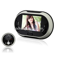 Factory Selling 3.5inch PIR Peephole Door Viewer with Memory