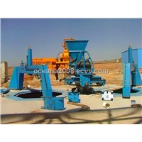 Full-Automatic Concrete Casting Pipe Production Line of Vertical Vibrating