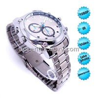 1080P Waterproof IR Night Vision Wrist Watch Video Camera Mini Spy Hidden Pinhole Digital Video Surveillance Recorder