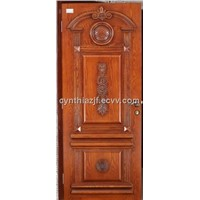 Hand Carved Exterior Wood Door