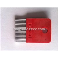 Hot Sell and High Quality Needle Block COMEZ 15G 18pin Plastic