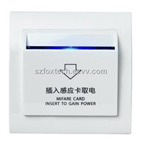 Hotel Power Mifare Card Switch Energy Saving Switch FES-101