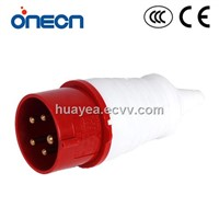 IEC CEE Industrial plug and socket HF-015L 3P+E+N