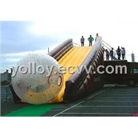 Inflatable Zorb Ball Ramp Slide