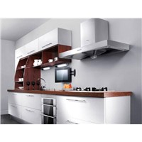 MDF with laminated finish Kitchen Cabinet OP10-L037