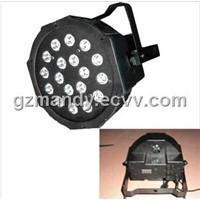 LED 18 Bulb Plastic Case Par Light