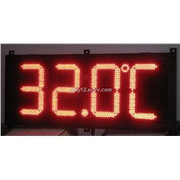 LED Digital Temperature Sensor Display
