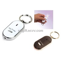 LED Whistle Key Finder Keychain