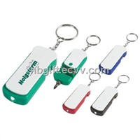 Mini Plastic Tool Keychain Light