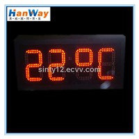 Outdoor LED Clock Temperature Display board