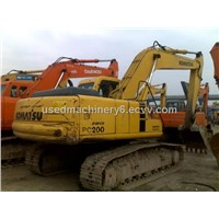 PC200-6 komatsu used excavator for sale