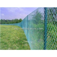 PVC Coated Chain Link Mesh 2.5mm Diameter
