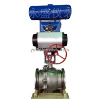 Pneumatic Cylinder Operated Control Valve,Pneumatic Actuated Globe Type Control Valves