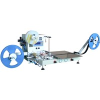 Pocket check smd component taping machine