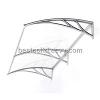 Polycarbonate Rain Awning Canopy Shelter