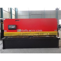 QC12K hydraulic NC metal sheet cutter machine