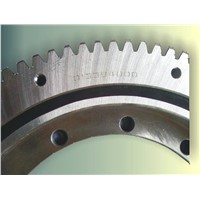 Single-row Four-point Contact Ball Slewing Ring with Flange
