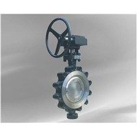 Triple offset butterfly valve Lug type