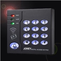 Waterproof Standalone RFID Door Access Controller with Anti-Theft Alarm