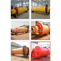 Wet Type Rubber Liner Ball Mill