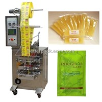 automatic honey pack shampoo sachet liquid packing machine