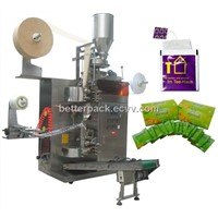automatic tea bags packing machine with outer envelope